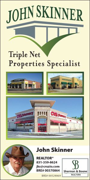 john skinner triple net nnn lease property specialist in watsonville california