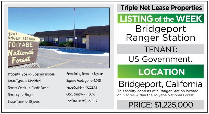 triple net lease property nnn investment watsonville bridgeport ranger station john skinner properties real estate agent