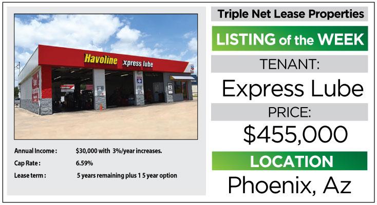 john skinner properties in watsonville, salinas, santa cruz, capitola, express-lube-triple-net-lease